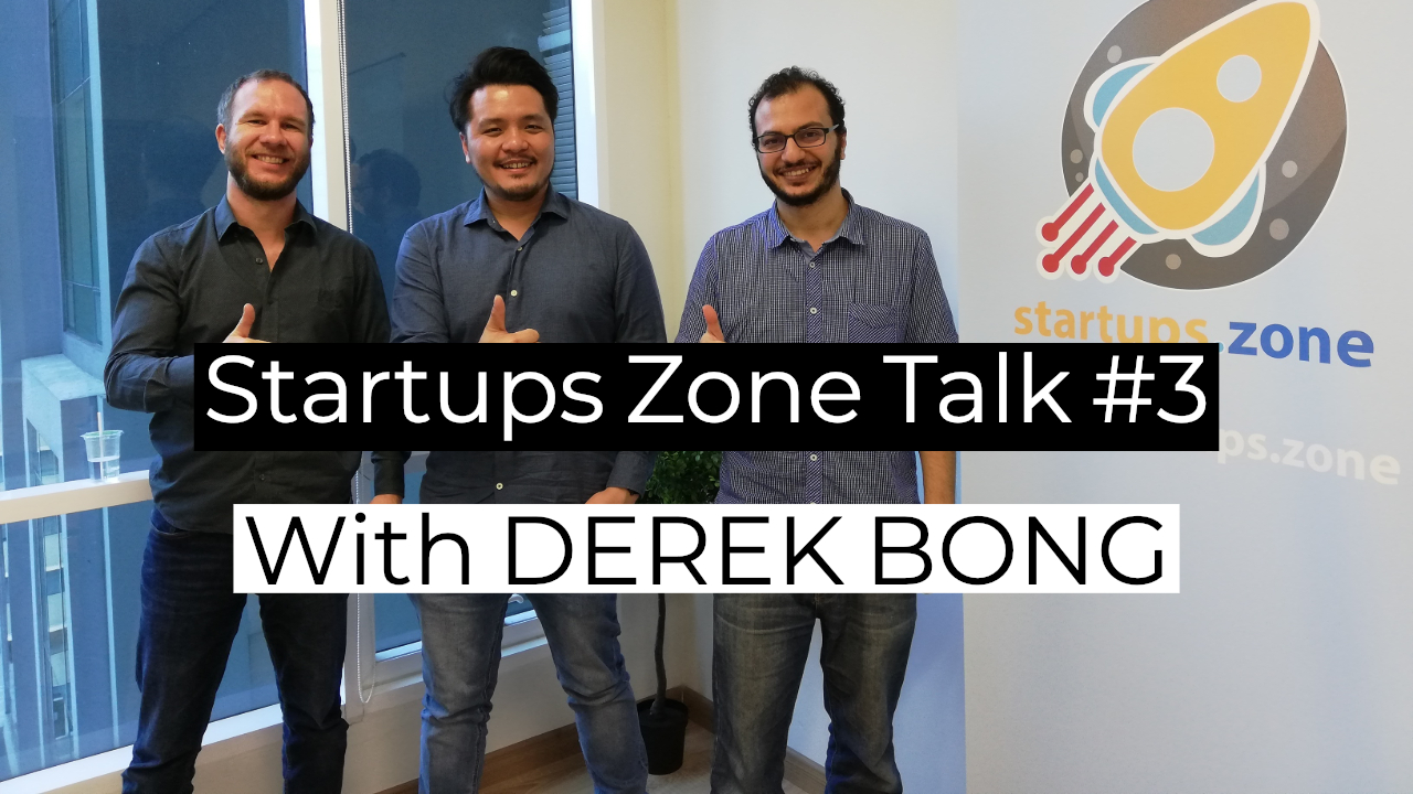 How did Derek Bong build his $1mil Event Company – Startups Zone Talk #3