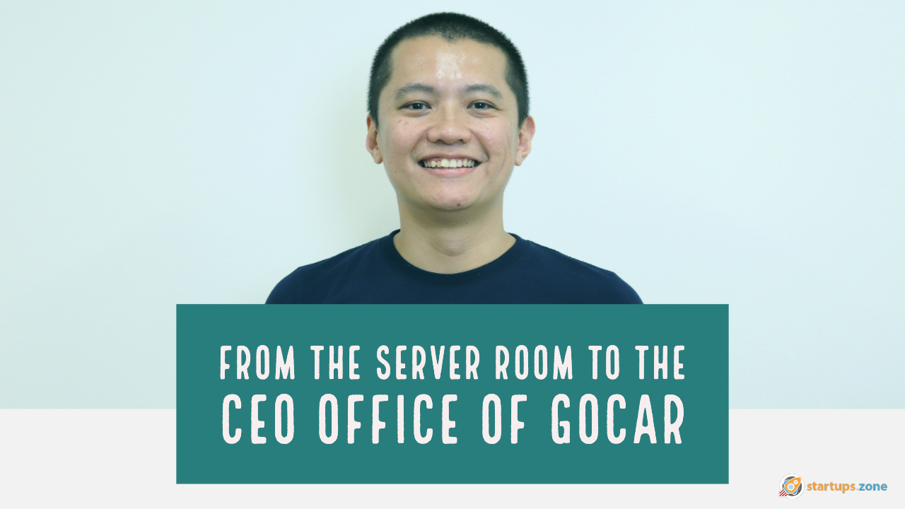 Alan Cheah from the server room to the CEO office of GoCar Mobility