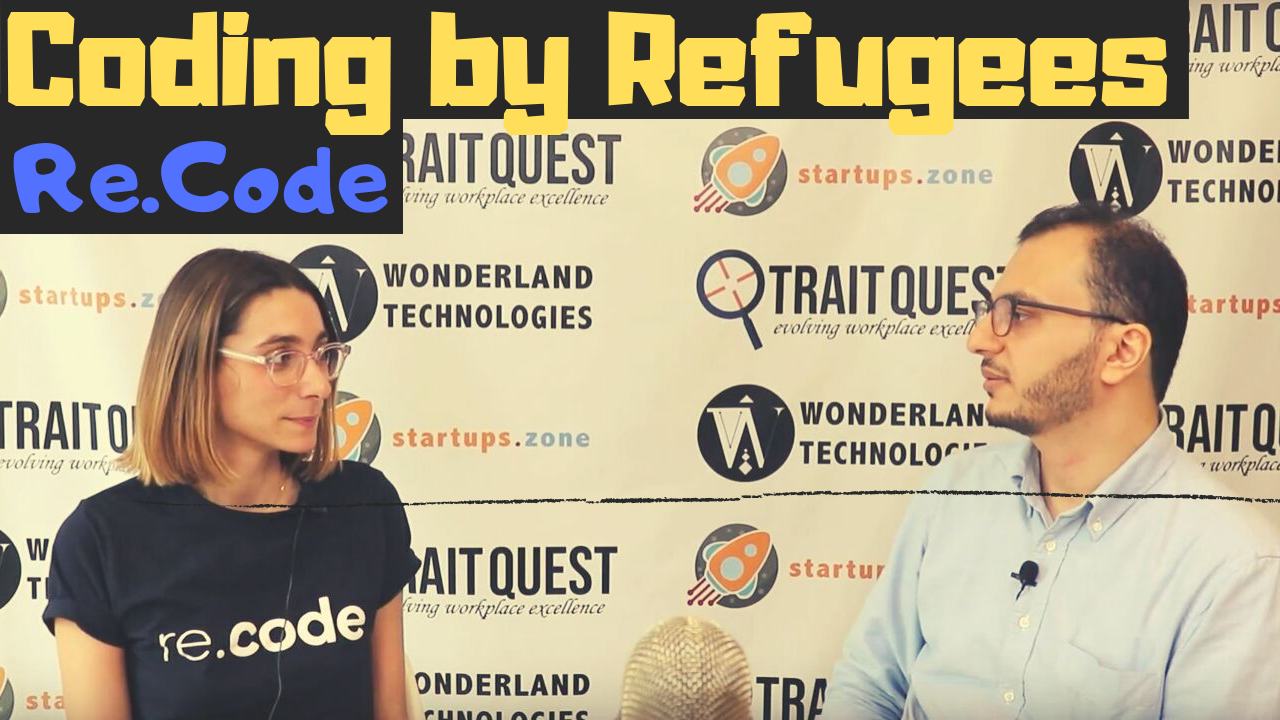 Jeanne Makinadjian Coding by Refugees – Startups Zone Talk #22