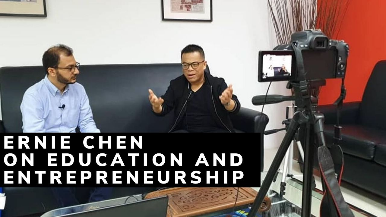 Ernie Chen The Education Rebel – Startups Zone Talk #23