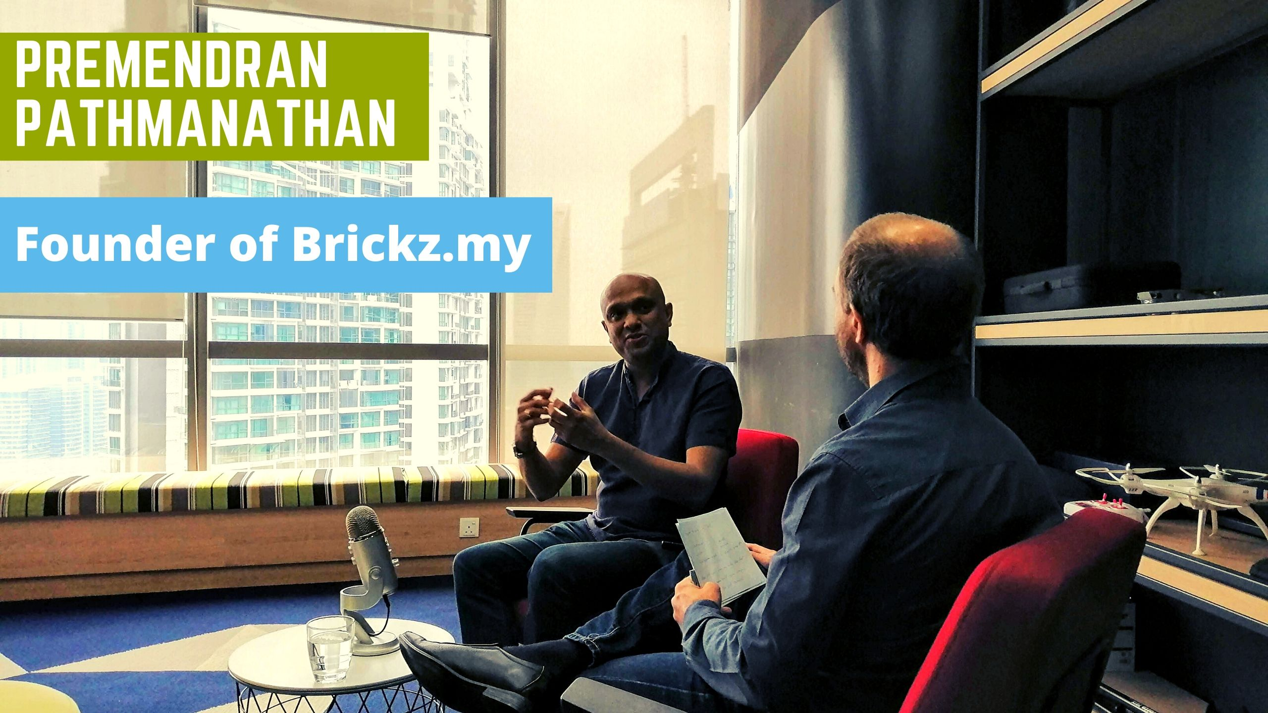 Premendran Pathmanathan founder of Brickz.my – Startups Zone Talk #25