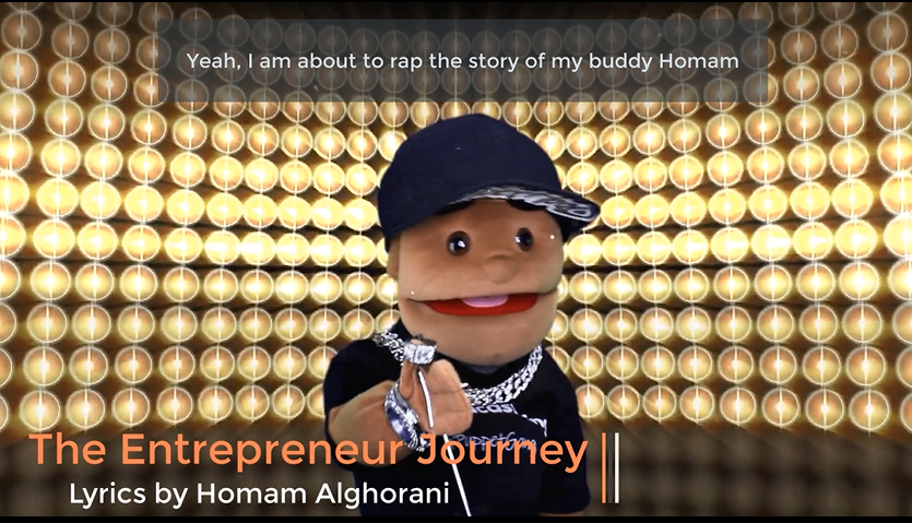 The Entrepreneur Journey by Homam Alghorani Song