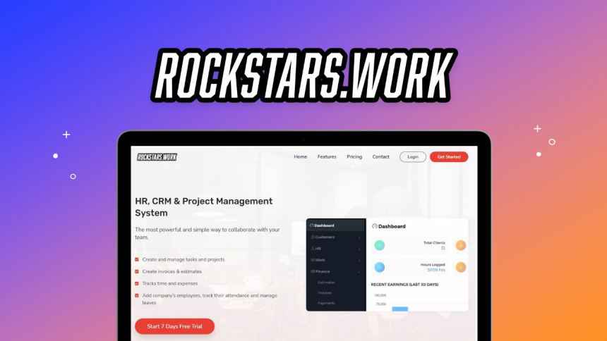 ROCKSTARS.WORK: Your all-in-one Project Management Software to achieve results.