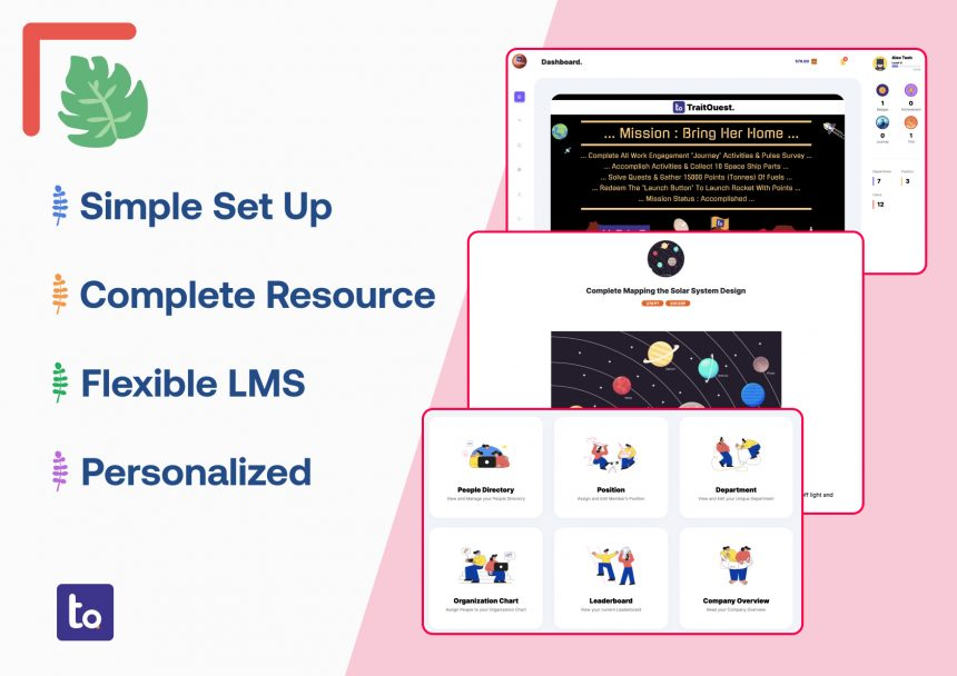 TraitQuest brings simplicity and flexibility to enterprise gamification